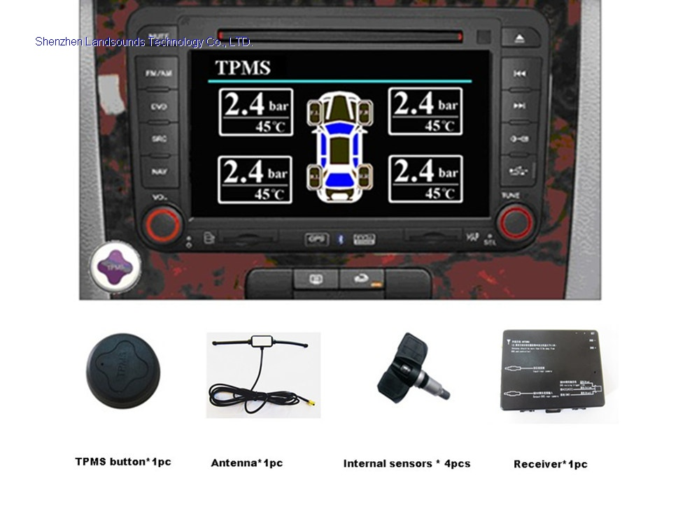 Tire Pressure Monitoring System Automatically Monitor Tire