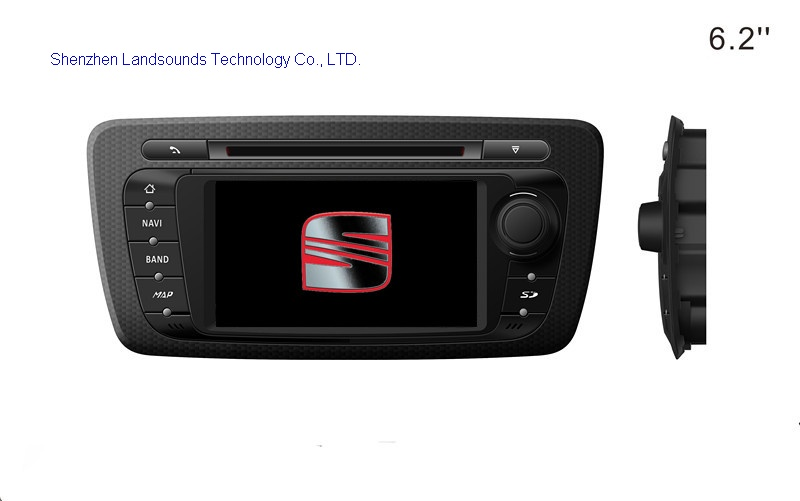 seat ibiza car autoradio gps with fm bluetooth tv. Black Bedroom Furniture Sets. Home Design Ideas